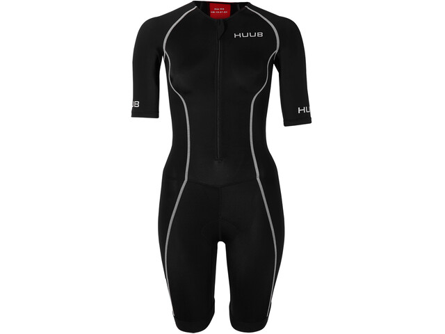 HUUB Essential Trisuit Long Course Kobiety, black/red